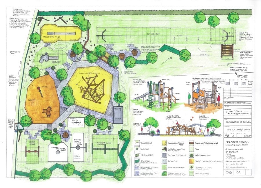 Clcik photo to download a pdf copy of the Community Playground Project design